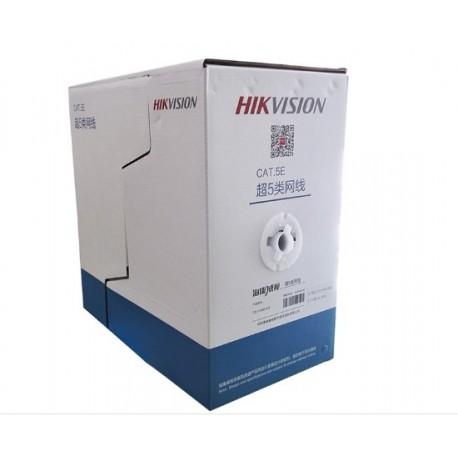 HIKVISION DS-1LN5E-E/E CAT5E  UTP ΚΑΛΩΔΙΟ ΔΙΚΤΥΟΥ  ΓΚΡΙ 305M