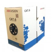 HIKVISION DS-1LN6-UE-W CAT6  UTP ΚΑΛΩΔΙΟ ΔΙΚΤΥΟΥ  ΓΚΡΙ 305M