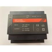 MEANWELL HDR-60-12 ΤΡΟΦΟΔΟΤΙΚΟ ΡΑΓΑΣ  12V 4.5A
